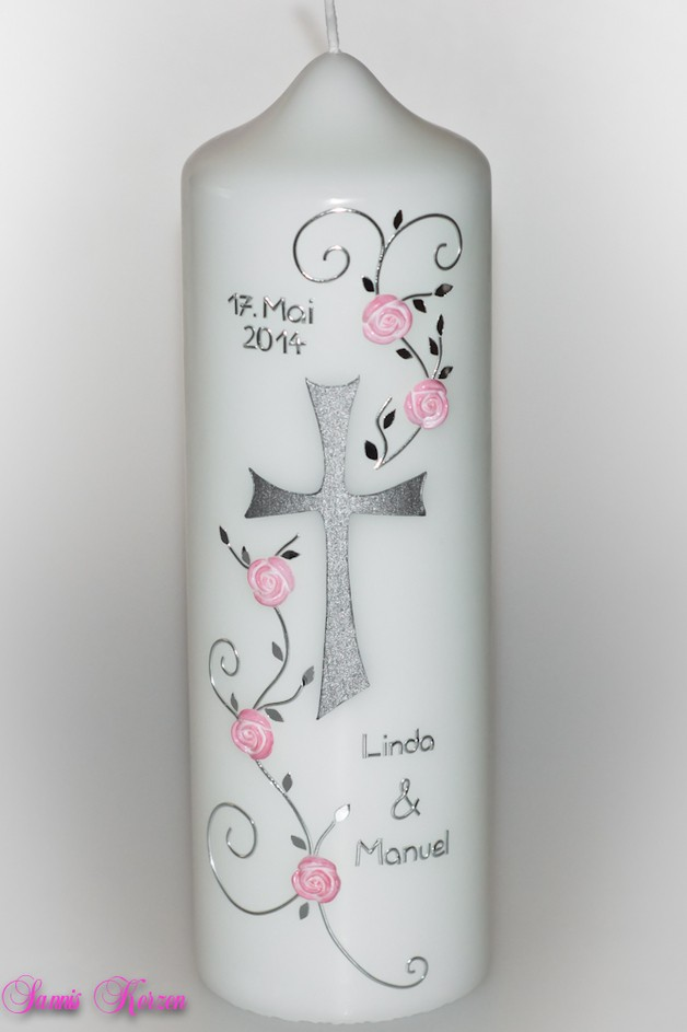 Hochzeitskerze Rosenkreuz für nur 27,86€
