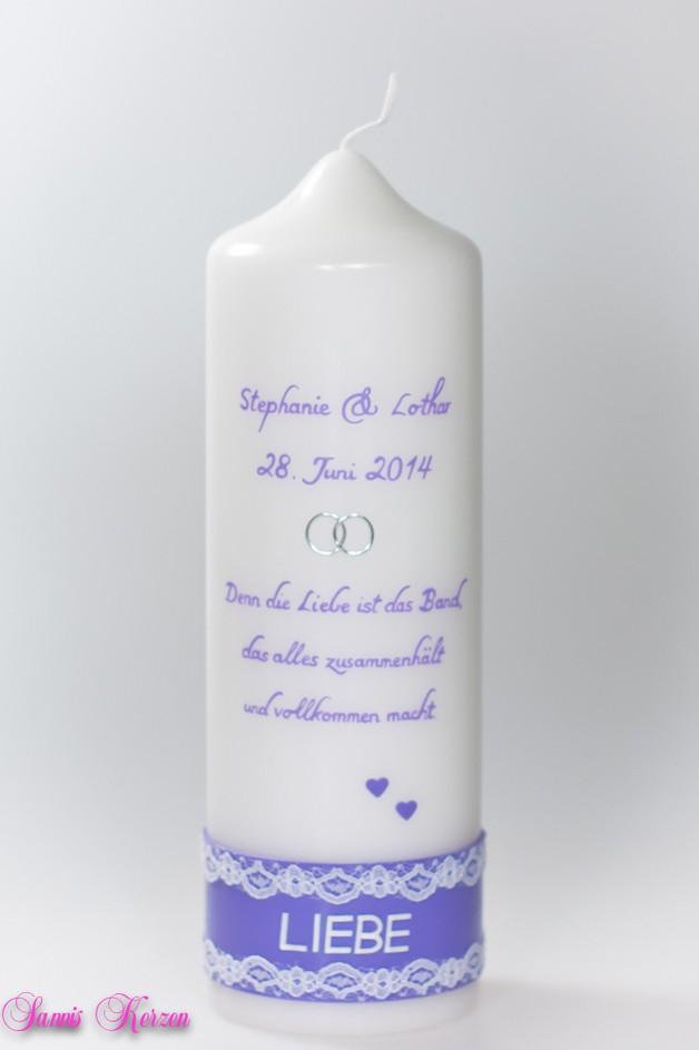 Hochzeitskerze LIEBE für nur 37,00€
