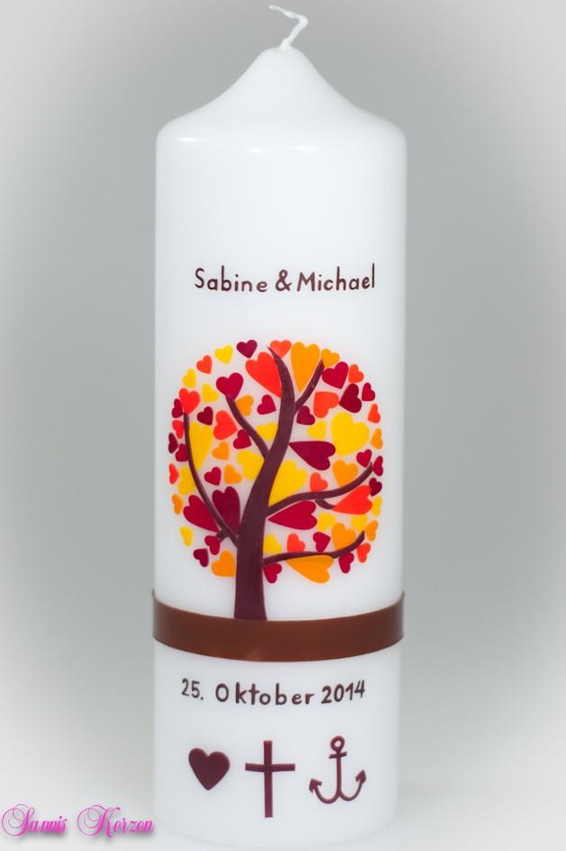 Hochzeitskerze Herzbaum für nur 41,36€