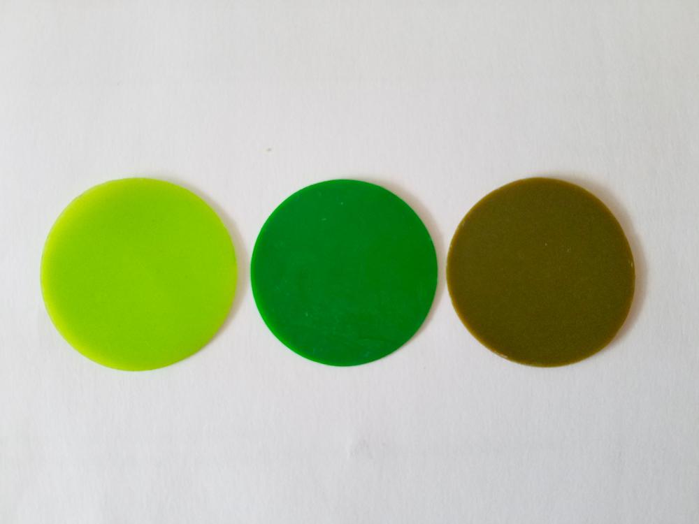freie Farbwahl große Wachs-Kreise 3-farbig für nur 2,99€