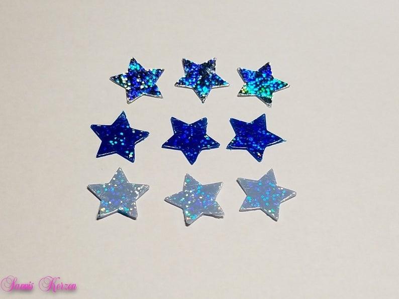 Glitzer Wachs-Sterne weihnacht für nur 2,15€