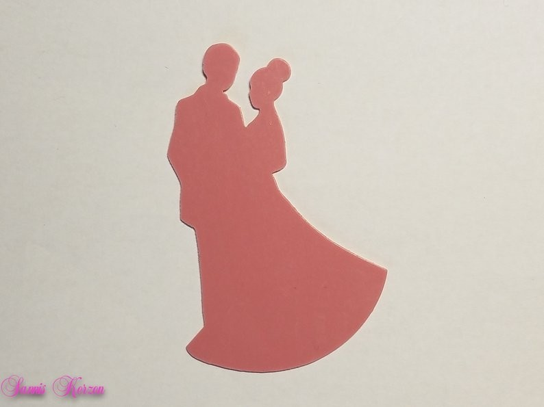 freie Farbwahl Wachs-Brautpaar für nur 3,00€