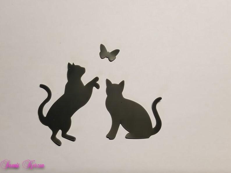 freie Farbwahl Wachs-Katzen für nur 3,00€