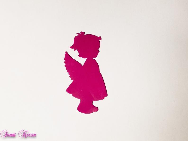 freie Farbwahl Wachs-Engel Mädchen für nur  1,30€