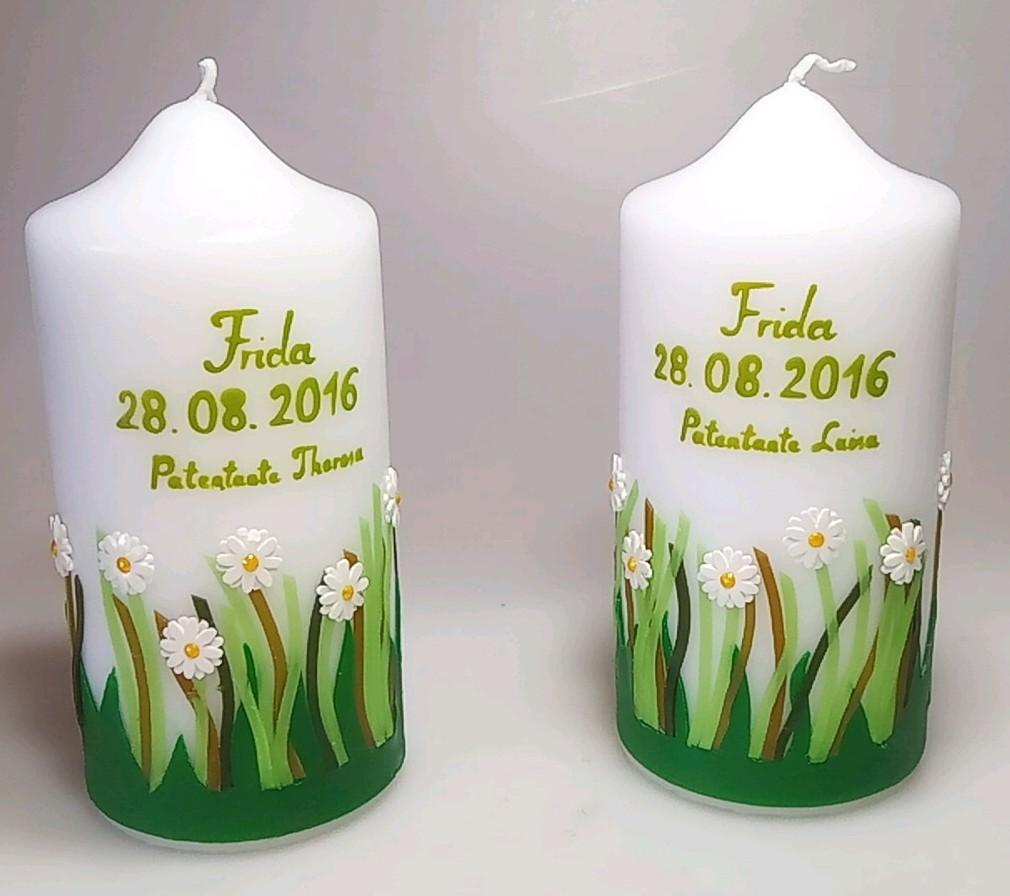 Patenkerzenset Frühlingswiese in der Farbe weiß  für nur  19,00€