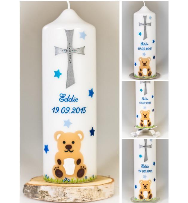 """Taufkerze """"Teddybär"""" für nur  37,00€"""
