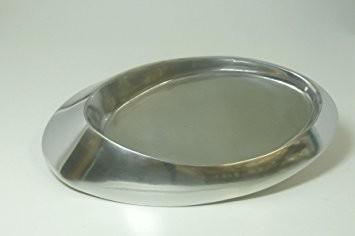 Kerzenteller Metall für ovale Kerzen