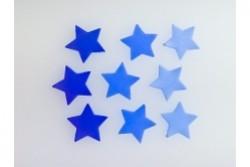 freie Farbwahl 9 Wachs-Sterne 3 Farben Mix