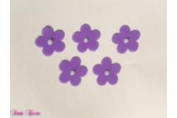 freie Farbwahl 5 Wachs-Blüten groß