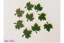 9 Wachs Blätter