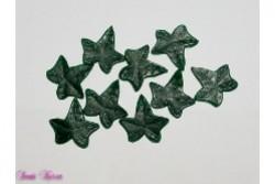 9 Wachs-Efeu Blätter mit Struktur
