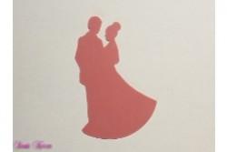 freie Farbwahl Wachs-Brautpaar