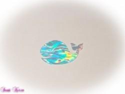 freie Farbwahl Wachs-Wal