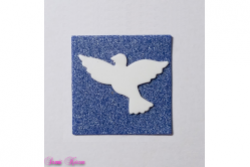 freie Farbwahl Wachs-Quadrat mit gewünschtem Symbol
