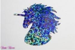 freie Farbwahl großes Wachs-Einhorn