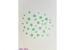 freie Farbwahl 9 kleine Wachs-Sterne