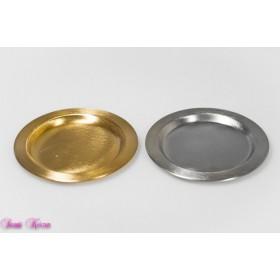 Metallteller silber / gold